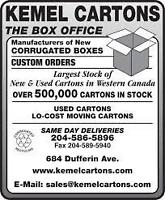Kemel Cartons - New and Used Boxes