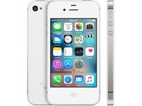 ****APPLE IPHONE 4S 16 WHITE UNLOCKED ALL NETWORKS****