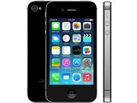 iPhone 4s - 16 GB - black - legally unlocked - great condition