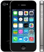 IPHONE 4S 32GB NEW  BELL/VIRGIN WITH/AVEC  GAURANTY