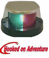 LED BI-COLOUR NAVIGATION BOW LIGHT Port/Starboard -Boat Navigation Lights Bi-Col