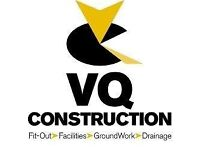 VQ Construction require skilled Tradespeople to join our growing team