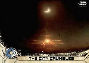 2017 Topps Star Wars Rogue ONE Series 2# 24 The City Crumbles NM