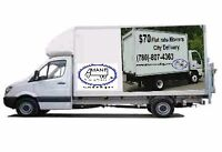 Flat Rates $70 delivery movers (free Estimtes includes verything