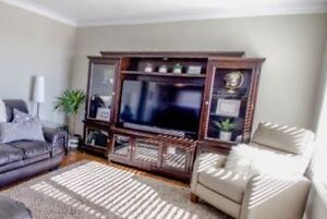TV wall entertainment unit