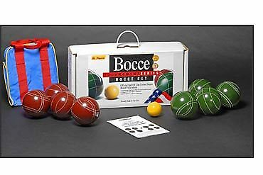 Tournament Bocce Set by St.Pierre - Made in USA