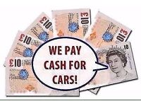 SCRAP CARS WANTED FOR CASH £££££££ WE COME AND COLLECT HASSLE FREE BIRMINGHAM SAME DAY PICK UP