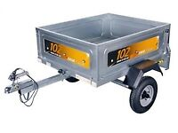 Erde 102 small car trailer in mint condition.
