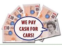 We buy cars runners non runners best price paid