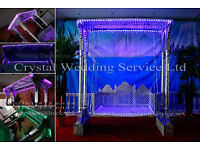 Asian Wedding Decoration, furniture, FOR SALE , Wedding stages Swing crystal stages