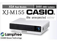 Casio XJ-M155 Hybrid 3000 Lumens HDMI DLP Home Cinema Projector VGC