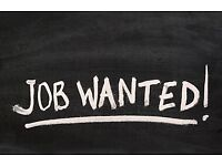 Work/Job Wanted (Labouring)