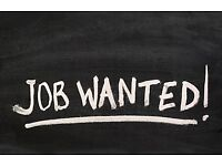 Part time work wanted - London E3
