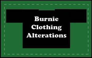 Burnie Clothing Alterations Burnie Burnie Area Preview