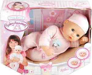 My First Baby Annabell Girl Doll With Closing Eyes *BRAND NEW BOXED*