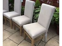 Excellent Quality Dining Chairs, New & Boxed.