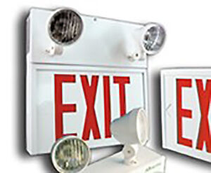 COMMERCIAL EMERGENCY EXIT LIGHTS