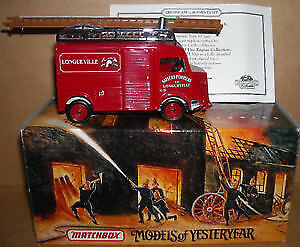Matchbox Die Cast Fire Engine - 1947 Citroen Type H Van