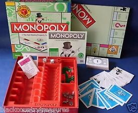 Monopoly Board Game - Nearly New - Classic Edition with Speed Dice!!