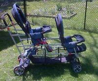 Triple Stroller - Navy Joovy Big Caboose