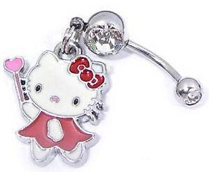 Hello Kitty Belly Rings