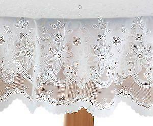 Vinyl Lace Tablecloths