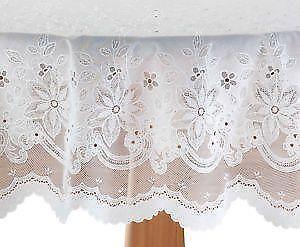 Vinyl Lace Tablecloths