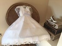 First Holy Communion Dress 2016 Age 8 or 9