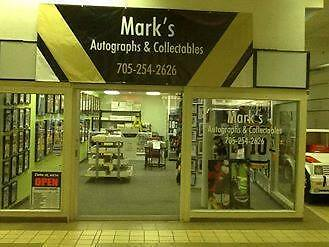 Mark's Autographs and Collectables