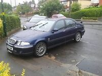 rover 45 1.6 mot and taxed mg zs rep take a look