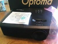 """s331 projector & OPTOMA DS-9092PWC 92"""" Pull Down Projector Screen"""