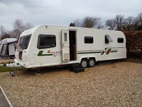BAILEY RETREAT SYCAMORE - 2013 - 6 BERTH - IMMACULATE CONDITION - WITH FULL ISABELLA AWNING.