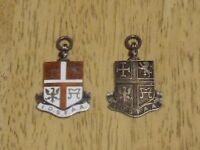 Can Anyone Help Me Identify Two British Hallmarked Silver Pendants!?