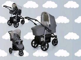 Travel system hauk viper slx trio set