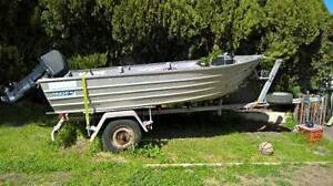 Seacraft Boat 4m with 25Hp Mercury Westminster Stirling Area Preview