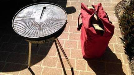 Portable BBQ with Piezo Ignitor, Heavy Duty Carry Bag Tingalpa Brisbane South East Preview