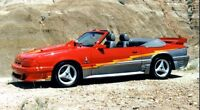 1987 Mustang Cobra convertible 520 hp, modified OFFERS