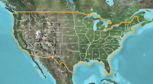 Topographic / Geocaching map of the USA, v6 for Garmin / Kenwood