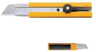 OLFA 5006 H-1 25mm Rubber Inset Grip EHD Utility Knife