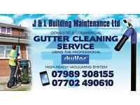 Gutter cleaning and repairs carried out