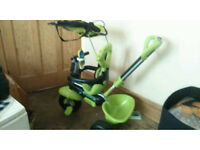 Smart 3in1 tricycle