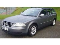 2005 Volkswagen Passat 1.9TDI PD (130bhp) Highline Estate 5d 1896cc