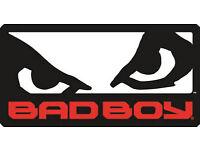 BRAND NEW Bad Boy branded thai style long kickbag punchbag for mma boxing kickboxing exercise