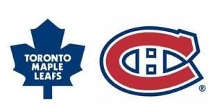 CANADIENS VS TORONTO REDS & WHITES SAT.APRIL6TH