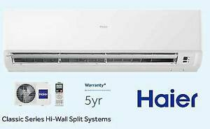 HAIER SPLIT SYSTEM SUPER CHEAP SPECIALS FROM $535 FOR 2.5KW Caboolture Caboolture Area Preview