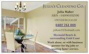Julia's Cleaning Service Mermaid Beach Gold Coast City Preview