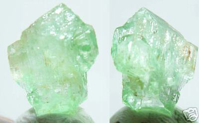 #1 Vietnam 100% Natural Transparent Amazonite Microline Crystal Specimen 9.30ct