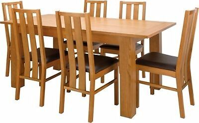 96 Dining Room Furniture Homebase Table And 4 Chairs Top Brtand New Oakleigh Extendable