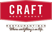 Craft Beer Market Toronto is looking for restaurant managers!