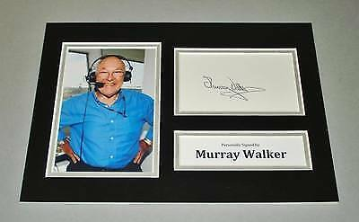 Autogramm von Murray Walker